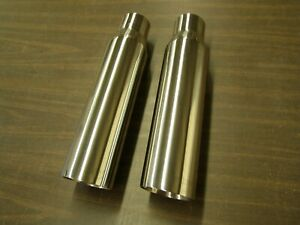 Nos Slp Exhaust Tips 2 5 Inlet Ford Mustang 1999 2000 2001 2002 2003 2004
