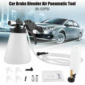 Brake Fluid Bleeder Bleeding Tool Car Pneumatic Kit Oil Replacement Vacuum Air