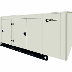 Cummins Commercial Standby Generator 60 Kw Lp ng 120 240v 3 phase Model Rs50