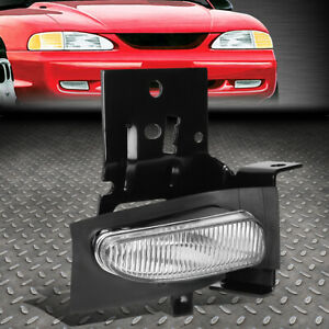 For 96 98 Ford Mustang Crystal Oe Style Right Passenger Side Fog Light W Bulb