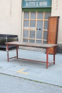 Table Work Style Industrial First Half Of 900 Table Metal