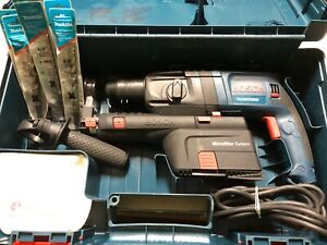 Bosch 11250vsrd Rotary Hammer With Dust Collection Micro Filter System W 6 Bits
