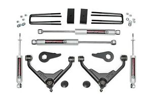 Rough Country 8596n2 Suspension Lift Kit W Shocks For Chevrolet Silverado 2500