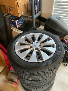 Wheels And Tires Oem Honda Accord 17 Good Year aly64047 used Part Aly6404