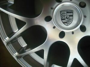19 Inch Porsche Boxster Cayman Forged Wheels Rims Ruger Silver 5x130 Lugs