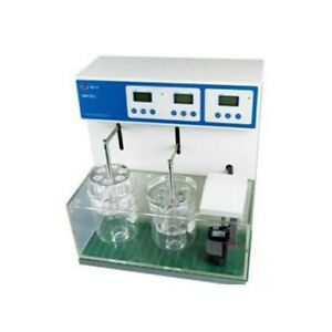 Double Cups Lab Instrument Disintegration Testing Tablet Tester 110v