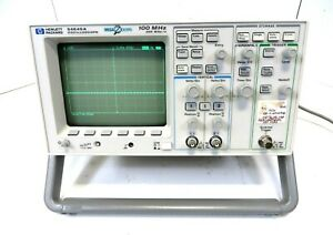 Hp Mega Zoom 54645a 2 Channel 100 Mhz Oscilloscope Good Working