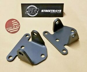 Sr Chevy 350 400 Sbc Small Block Solid Steel Frame Engine Motor Mounts Bracket