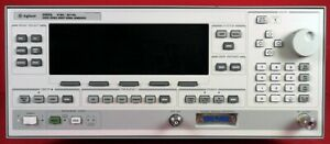 Hp Agilent 83620l Synthesized Signal Generator To 20ghz