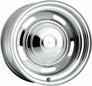 U s Wheel 57 5734l Chrome Rallye Wheel series 57
