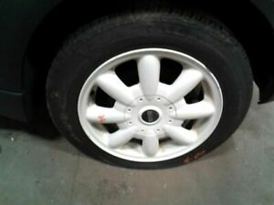 Wheel 15x5 1 2 Alloy 8 Spoke Convertible White Fits 02 09 Mini Cooper 1239327