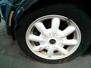 Wheel 15x5 1 2 Alloy 8 Spoke Convertible White Fits 02 09 Mini Cooper 1239326