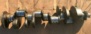1956 Buick Nailhead 322 Engine Crankshaft Rare For Manual Shift Stick 55 54 53