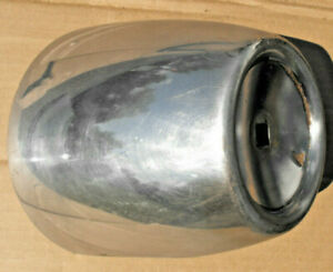 1957 Chevrolet Rh Bumper Guard Bullet Dagmar Chrome Tip Front 57 Used B