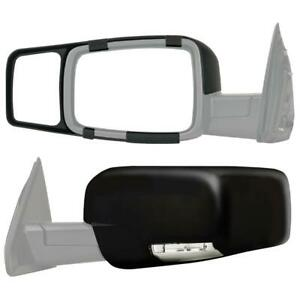 Clip on Towing Mirror Set For 2009 2014 Dodge Ram 1500 2010 2014