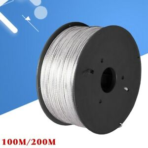 15kv Aluminum Alloy High Voltage Wire For Electric Fence 200 Meter roll