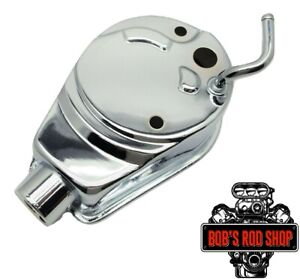Chrome Saginaw Gm Power Steering Pump Reservoir Canister Sbc Bbc A Can Style