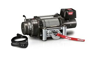 Warn 47801 M15000 Series 12 V Electric Winch With 15 000 Lb Capacity 90 Ft Cable