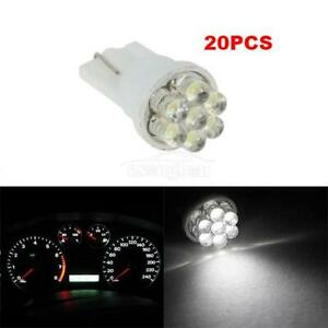 20x White T10 W5w 168 194 161 7 smd Led Dash Cluster Interior Speedometer Light