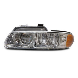 Fits 00 Chrysler Plymouth Voyager Grand W quad Headlight Headlamp Driver Side