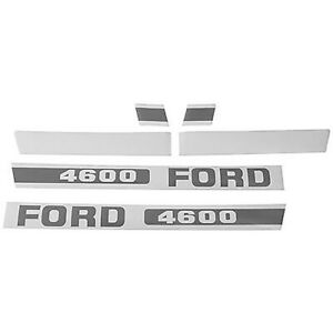 F511h Hood Decal Fits Ford fits New Holland Tractor 4600