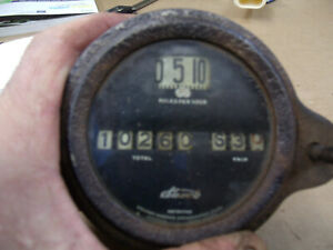 Model T Ford Antique Car Stewart Speedometer Mt 4623