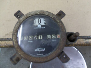Antique Car Stewart Speedometer Head Mt 4636