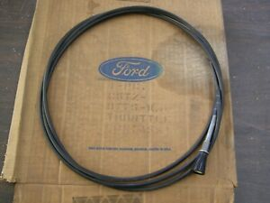 Nos Oem Ford 1965 1970 Large Truck Accelerator Cable F500 1966 1967 1968 1969