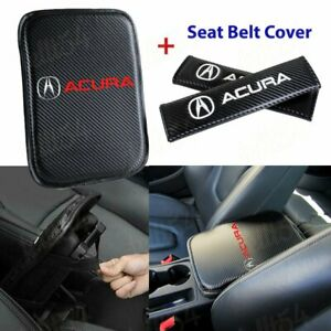 Car Center Console Armrest Cushion Mat Pad Cover Combo Set For Acura Brand New