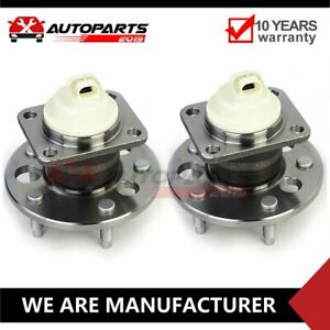 Pair 2 Rear Wheel Hub Bearing Assembly 5 Stud For 2009 2013 Chevrolet Impala Fwd
