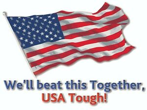 We ll Beat This Together Usa Yard Sign