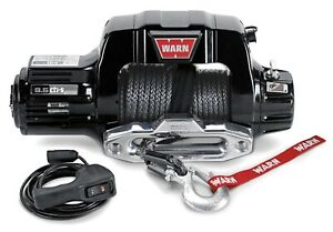 Warn 97600 9 5cti Series 12 Volt Synthetic Winch W 9500 Capacity 100 Rope