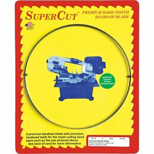 Supercut Metal Cutting Band Saw Blade 104 1 2in X 1in X 035in