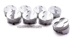 Icon Pistons Bbc Forged Domed Piston Set 4 280 Bore 18cc Ic777 030