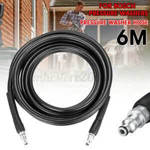 Aqt High Pressure Washer Hose Pipe Jet Power Wash Drain Cleaning Pvc For Bosch
