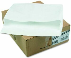 10 Tyvek Envelopes Open Side Expansion 12 x 6 x 2 Self Seal Expanded Envelope