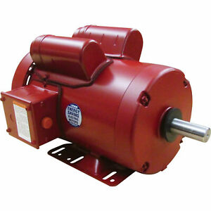Leeson Farm Duty Electric Motor 2 Hp 1 725 Rpm 230 Volts Single Phase M6k17fb4