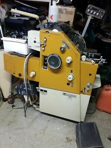 Itek 975cpd 3200 Two Color Offset Printing Press Will Ship If Requested
