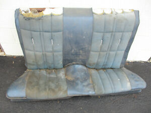 Oem Ford Mustang Back Rear Seat Coupe Grande 1971 1972 1973 Used Top