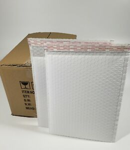 Pack 75pcs In Box 10 X 15 Inches Usable Large Blue Poly Bubble Mailers Envelopes