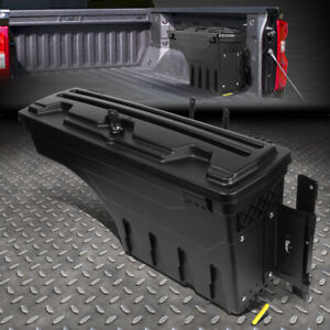 For 15 20 Ford F 150 Pickup Truck Bed Wheel Well Storage Tool Box W Lock Right