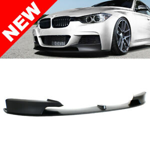 12 15 Bmw F30 3 Series M Performance Style Lip For M Tech Sport Front Bumper