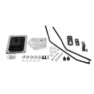 Hurst 3677640 Mastershift Installation Kit 3 speed 1965 73 Mustang V8 Without Co