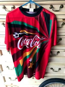 2010 FIFA WORLD CUP South Africa #10 COCA-COLA Coke Soccer X-Large XL Jersey