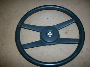 1970 1981 Camaro Vega El Camino Chevelle Nova 4 Spoke Dark Green Steering Wheel