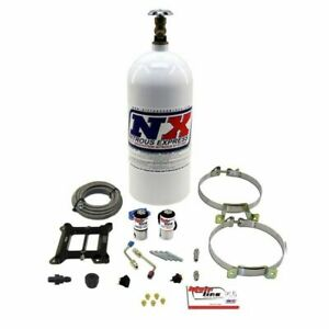Nitrous Express Mainline Holley 4150 4bbl Carb Plate Kit System Bottle 100 250hp