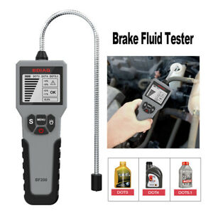 Brake Fluid Tester Digital Brake Fluid Inspection Check Car Brake Oil Tester