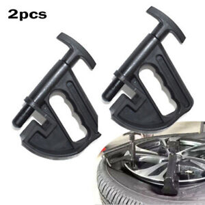 2pcs Portable Manual Tires Changer Bead Clamps Hand Tyre Changer Bead Breaker