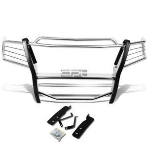 Fit 04 08 Ford F150 Pickup Truck Chrome Stainless Steel Front Bumper Grill Guard