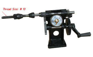 New Black Manual Hand Coil Winder Winding Counting Machine Nz 5